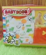 FREE KARTU UCAPAN Paket Kado Bayi 0-12bulan Setelan Plus Wipes warna random (1)