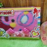 FREE KARTU UCAPAN Paket Kado Bayi Baru Lahir BabyBoss Selimut Bludru Kaos Kaki Boneka (4)