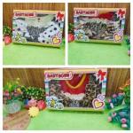 FREE KARTU UCAPAN Paket Kado Bayi perempuan Cewek Gift Box Dress Boots Motif Acak (4)