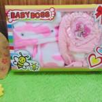 FREE KARTU UCAPAN gift box paket kado bayi cewek perempuan jaket plus topi rajut pink