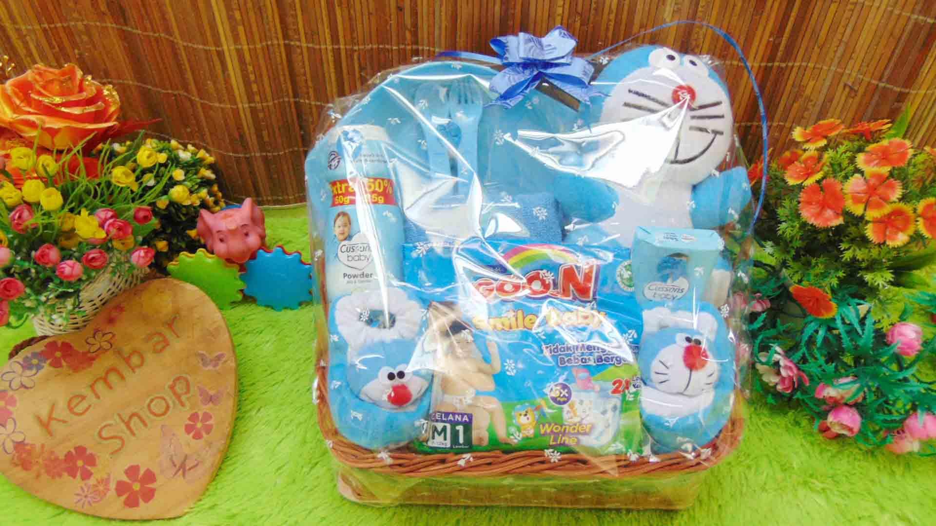 FREE KARTU UCAPAN Paket Parcel Kado Bayi Feeding set (2)
