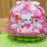 FREE KARTU UCAPAN Parcel Kado Bayi Jaket Sepatu Boneka Karakter Doraemon Hello Kitty (2)