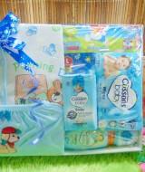 Hampers Baby Gift Kado Lahiran Bayi Newborn Hemat Komplit FREE UCAPAN (1)