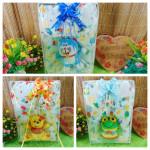 FREE KARTU UCAPAN paket kado lahiran bayi baby gift set box jaket plus boneka motif jungle