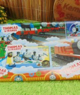 sampul kado bayi kertas kado lahiran baby gift motif Kereta Api Thomas Train and friends