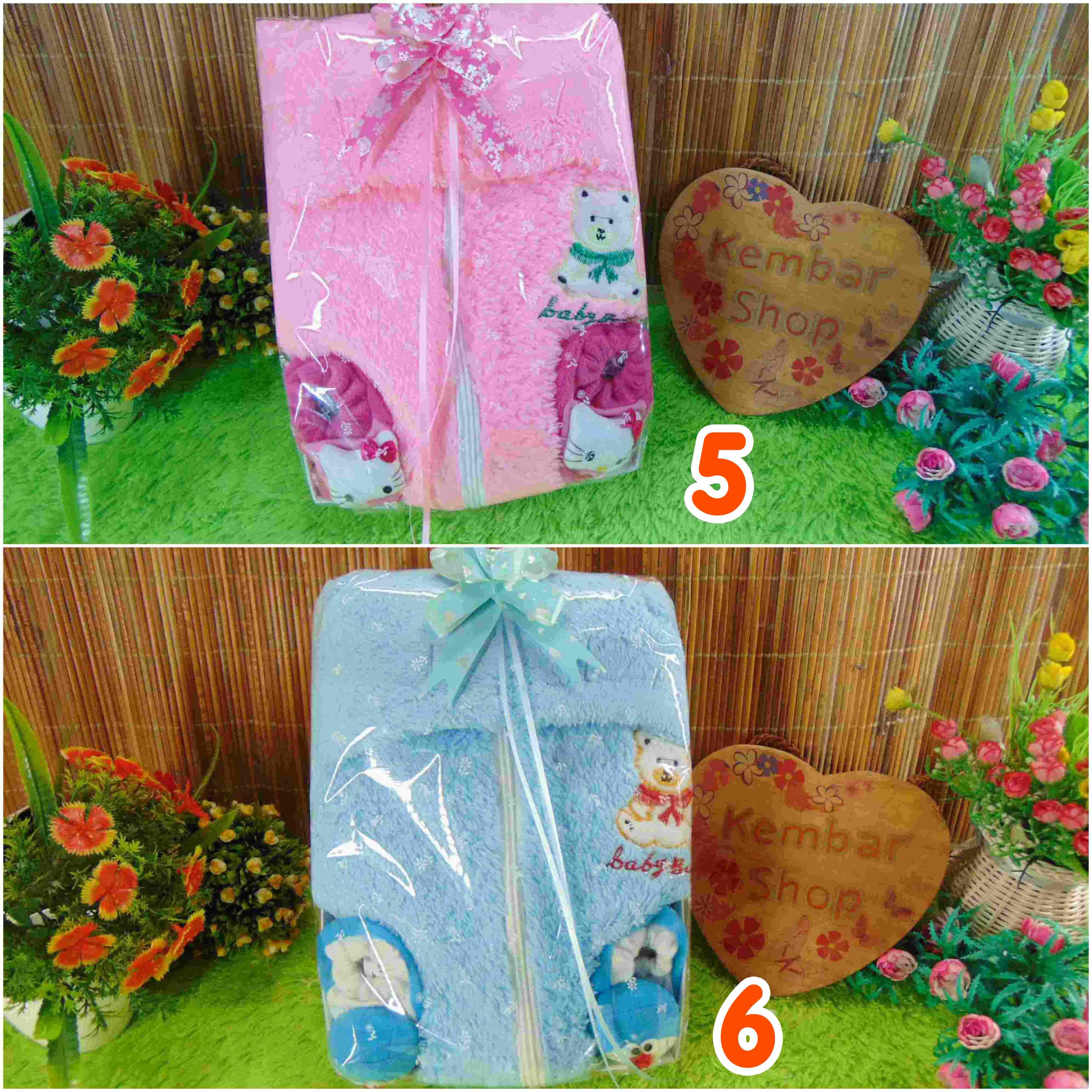 Paket Kado Bayi Jaket Plus Sepatu Boneka Karakter FREE KARTU UCAPAN (2)