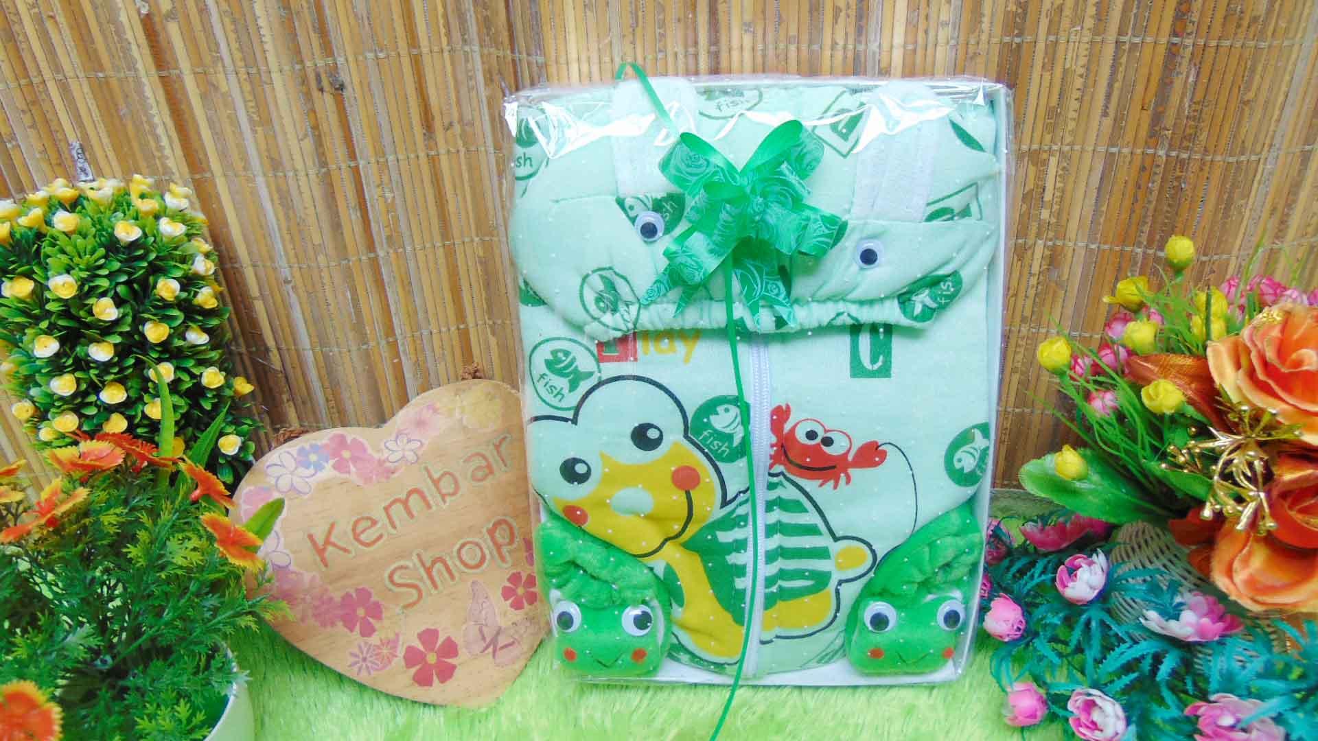 Paket Kado Bayi Jaket Plus Sepatu Boneka Karakter FREE KARTU UCAPAN (3)