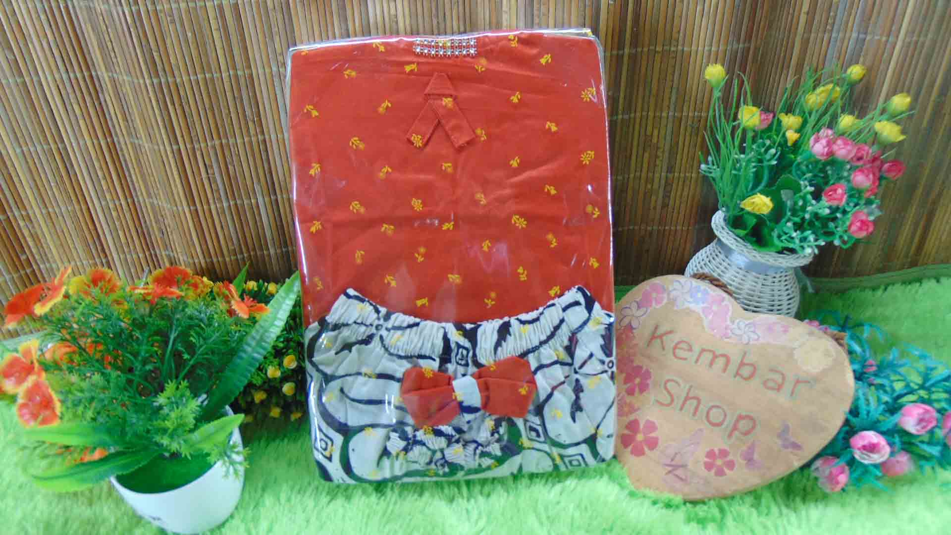 Paket Kado Bayi Kebaya Kutung Kombi Cantik Warna Random FREE KARTU UCAPAN (3)