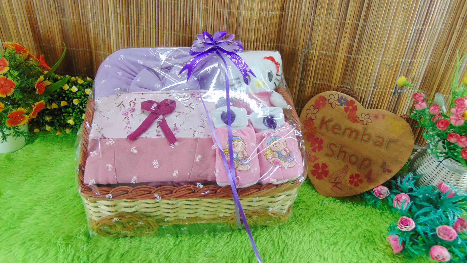 [SUPER CANTIK KOMPLIT] Hampers Baby Gift Parcel Parsel Bayi Kado Lahiran Kereta FREE UCAPAN (1)