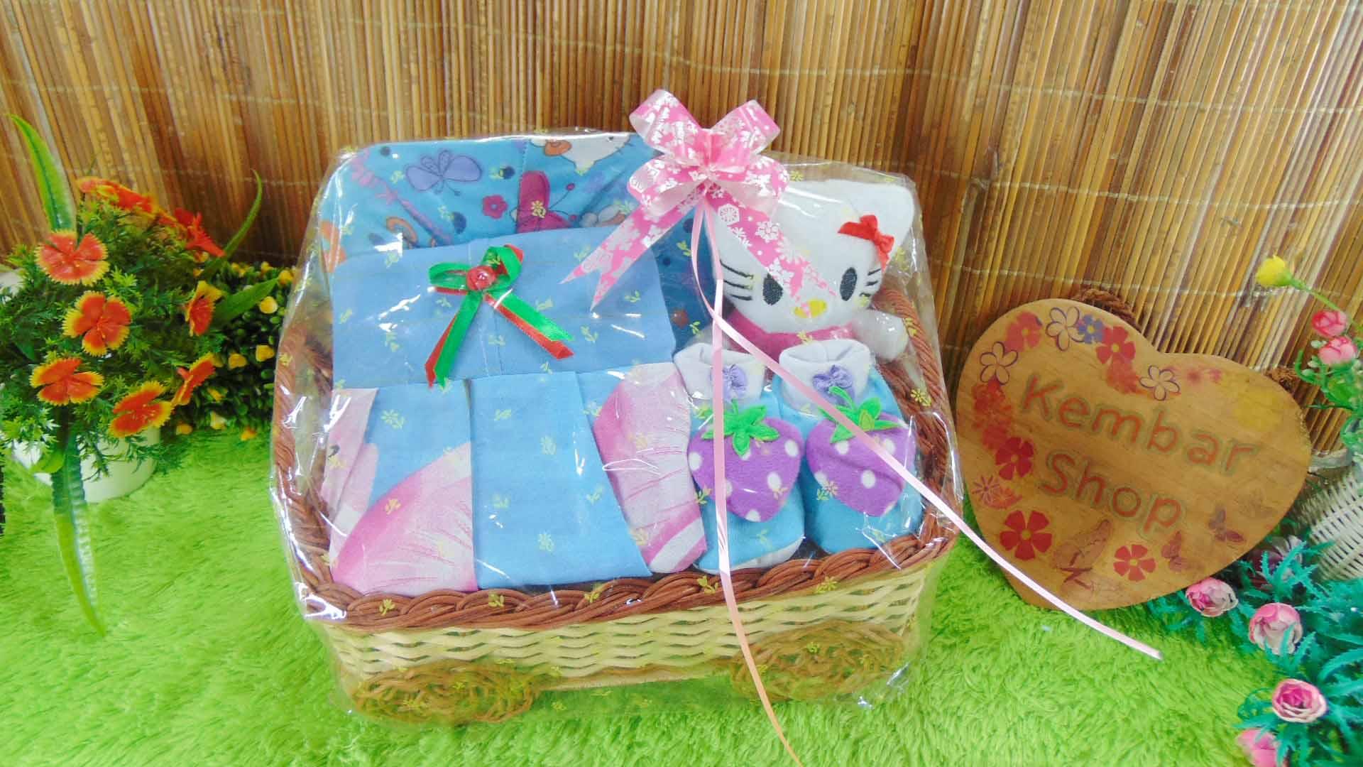 [SUPER CANTIK KOMPLIT] Hampers Baby Gift Parcel Parsel Bayi Kado Lahiran Kereta FREE UCAPAN (3)