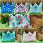 kado bayi Bantal mahkota crown pillow bantal peyang Peang bayi baby aneka motif (1)