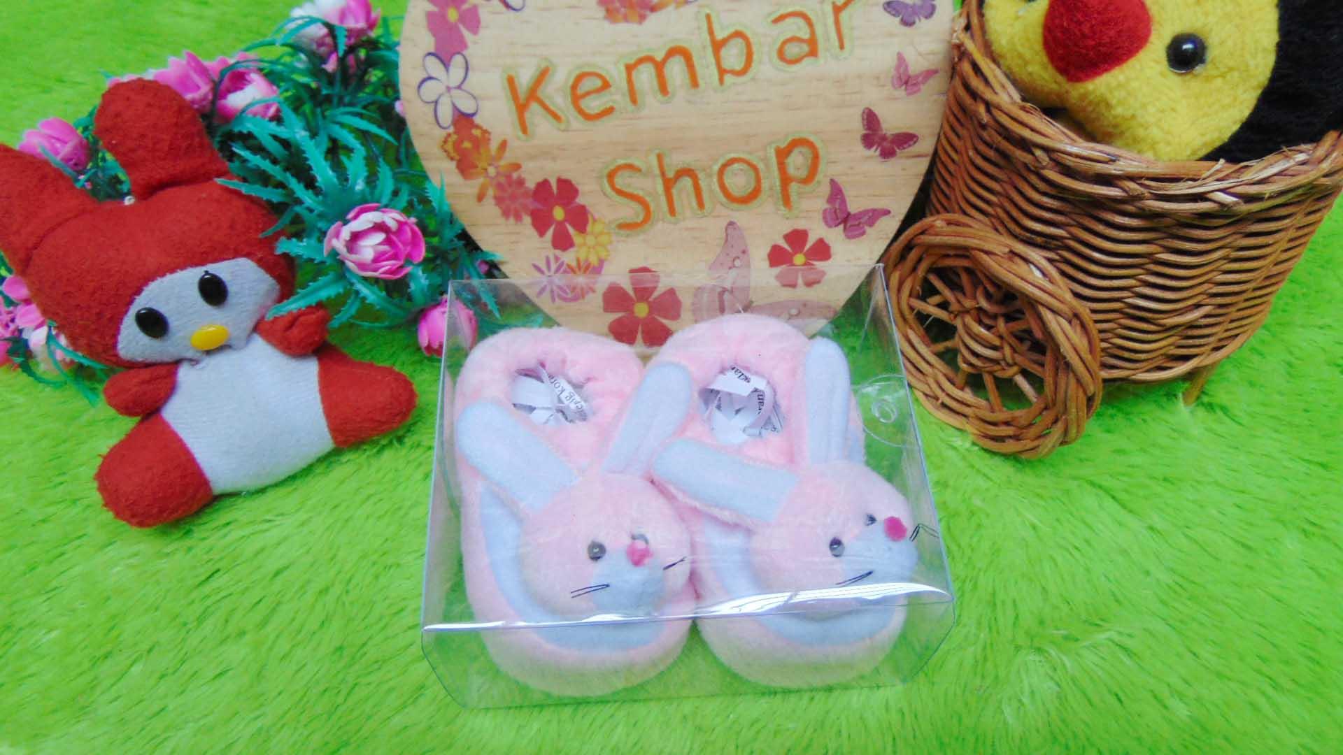 kado-bayi-baby-gift-set-sepatu-prewalker-alas-kaki-newborn-0-6bulan-lembut-motif-kelinci-soft-pink-2