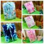 FOTO UTAMA FREE KARTU UCAPAN paket kado lahiran bayi baby gift set box jaket plus sock ANEKA motif