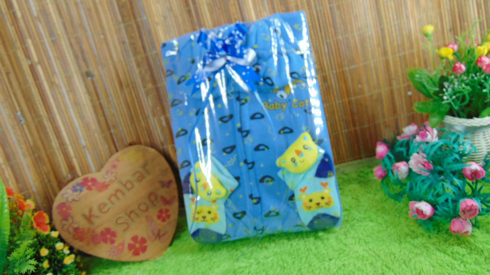 FREE KARTU UCAPAN kado bayi baby gift set jaket sock newborn 0-12bulan plus kaos kaki boneka (4)