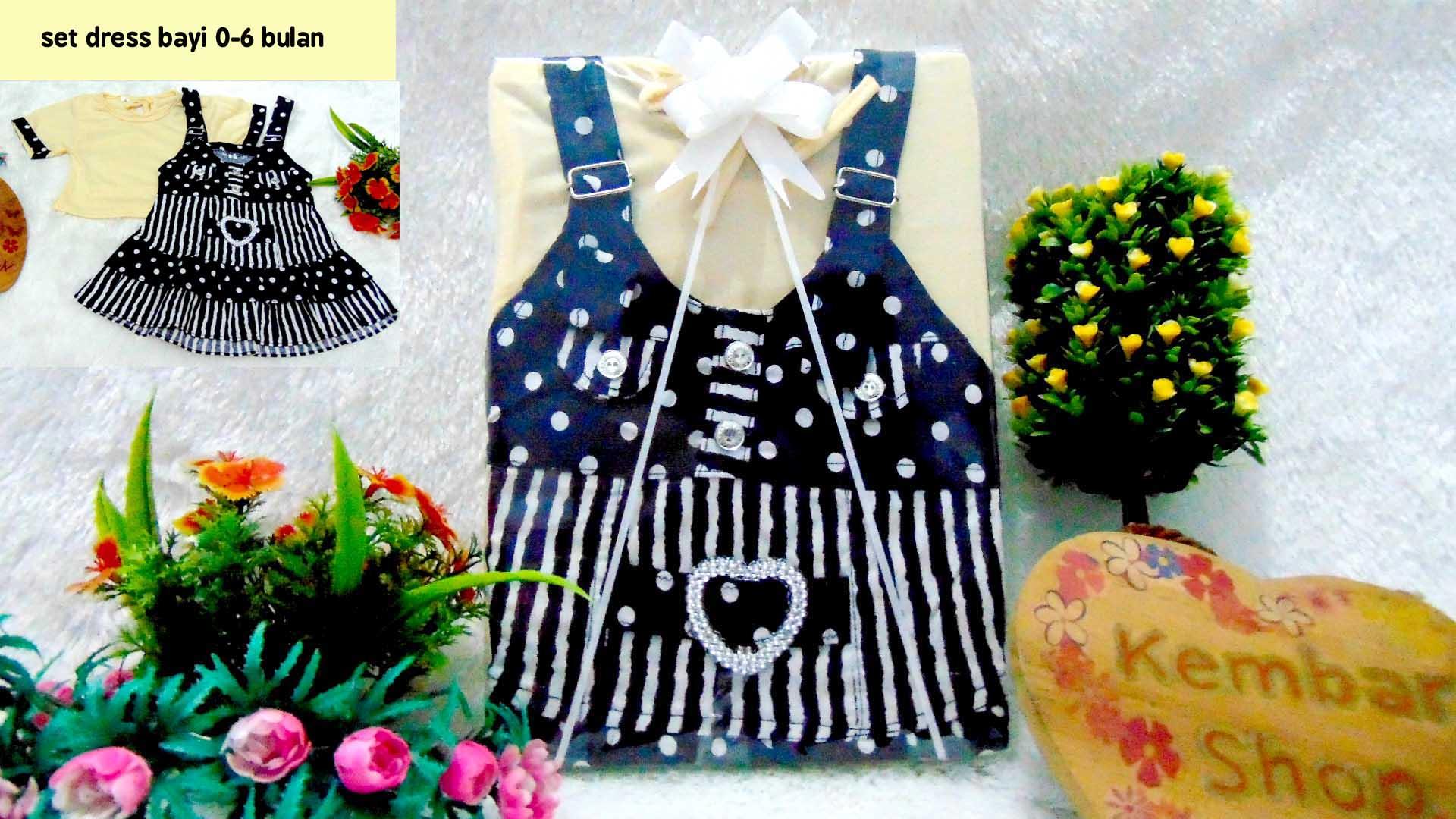 PAKET B Hampers Bayi Newborn Kado Bayi Kado Ulang Tahun Cewek Kado Lahiran Baby Gift Set Baju Bayi Perempuan Kado Dress Pesta 1
