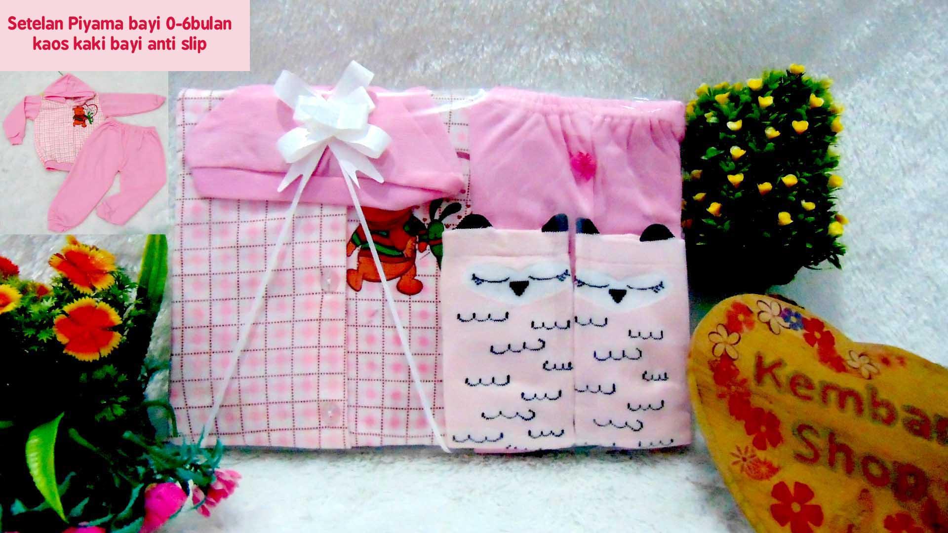 PAKET D Hampers Bayi Newborn Kado Bayi Kado Setelan Bayi Piyama Bayi Kado Lahiran Baby Gift Set Baju Bayi Perempuan 8