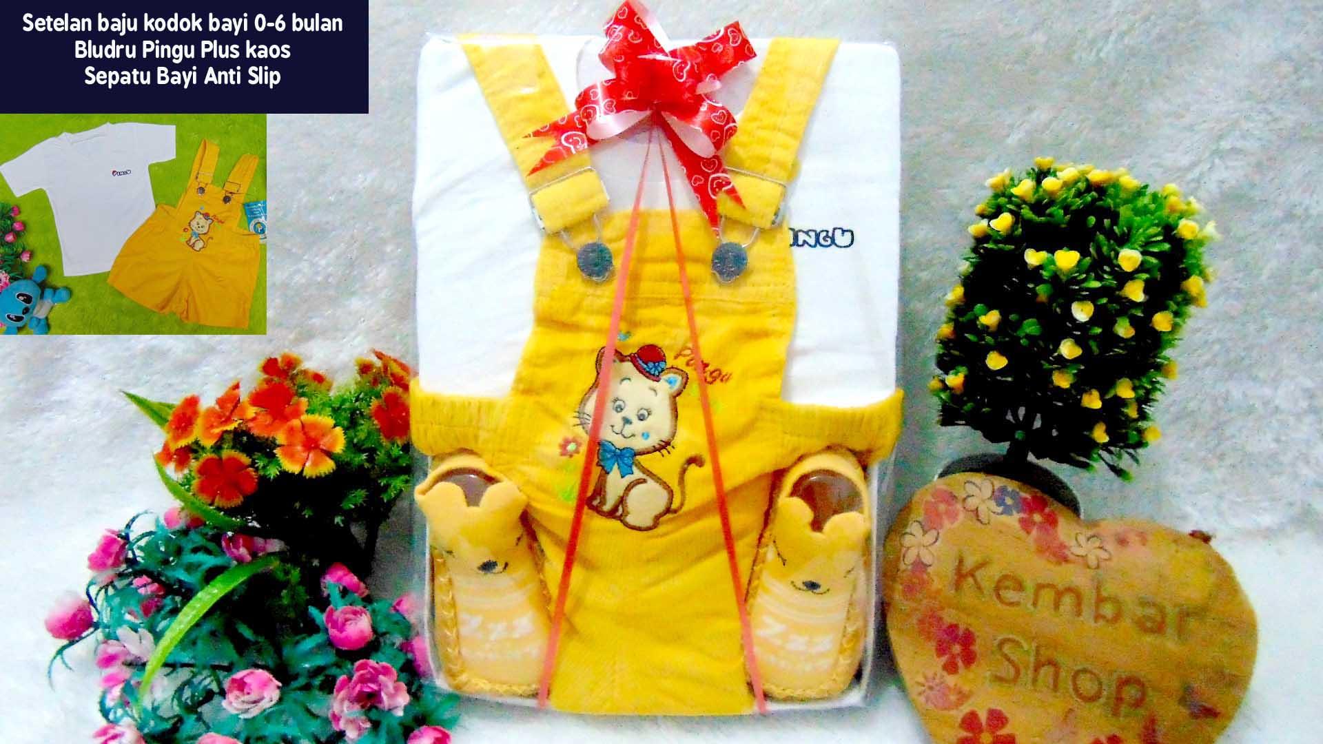 PAKET E Hampers Bayi Newborn Kado Bayi Kado Lahiran Baby Gift Setelan Baju Kodok Aneka Motif