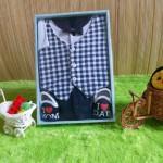baby gift set paket kado bayi cowok navy