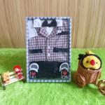baby gift set paket kado bayi cowok hitam