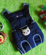 gendongan bayi depan claudia baby navy boneka 75 bahan kuat dan lembut untuk menggendong bayi,juga cocok untuk kado
