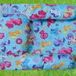 PALING MURAH kado bayi set kasur bayi karakter little pony plus bantal dan guling