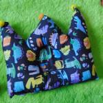 Kado bayi Bantal mahkota crown pillow bantal peyang Peang bayi baby motif dinosaurus