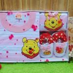 FREE KARTU UCAPAN kado bayi lahiran baby gift hadiah box paket karakter winnie the pooh pink