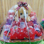TERLARIS paket kado bayi baby gift parcel bayi parcel kado bayi kado lahiran rajut komplit ANEKA WARNA (2)
