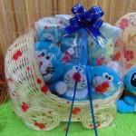 TERLARIS EKSKLUSIF paket kado bayi baby gift parcel bayi parcel kado bayi kado lahiran Stroller prewalker Doraemon spesial