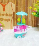 utama FREE BUBBLE WRAP Kado Ulang Tahun Mainan Edukasi Edukatif Gerobak Ice Cream Es Krim Mini Mungil Warna Random (2)
