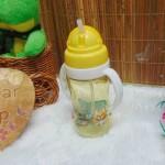FREE BUBBLE WRAP tenpat botol minum anak bayi batita balita PAUD dengan pegangan dan sedotan