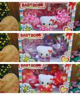 FREE KARTU UCAPAN Kado Bayi Baru Lahir Perempuan Baby Girl Set Boots Bandana Gift Box (8)