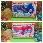 FREE KARTU UCAPAN Paket Kado Bayi Baru Lahir Gendongan Doraemon plus Kaos Kaki Boneka