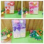 FREE KARTU UCAPAN gift box paket kado bayi cewek perempuan baru lahir hello kitty warna random