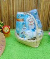 TERLARIS paket kado bayi hemat parcel keranjang tangkai (1)