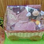 FREE KARTU UCAPAN Parcel Lebaran Paket Kado Anak Bayi Sarkoci Warna Random uk L 2-3th