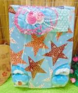 FREE KARTU UCAPAN Paket Kado Bayi Perempuan Baby Gift Set Girl Dress Sepatu Boneka Disney (2)