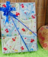 Hampers Paket Hemat isi 6pcs Baju Newborn Baby Gift Parcel Bayi Kado Lahiran FREE UCAPAN (1)