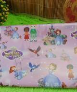 sampul kado bayi kertas kado lahiran baby gift motif Princess Sofia The First