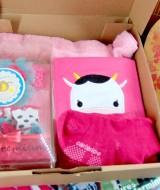 [FREE SAMPUL KADO] Hampers Kado Lahiran Bayi Newborn Exclusive Baby Gift Jumper Legging Cottonrich Headband Kaos Kaki FREE UCAPAN (2)