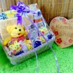 FREE UCAPAN Hampers Baby Gift Parcel Parsel Bayi Kado Lahiran Keranjang Winnie The Pooh