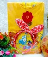 PAKET E Hampers Bayi Newborn Kado Bayi Kado Ulang Tahun Cewek Kado Lahiran Baby Gift Set Baju Bayi Perempuan Kado Dress Pesta 1
